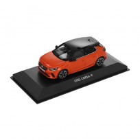MODEL SAMOCHODU OPEL CORSA-E F POWER ORANGE 1:43