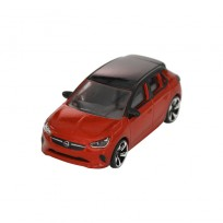 MODEL SAMOCHODU OPEL CORSA F ORANGE/BLACK SKALA 1:55